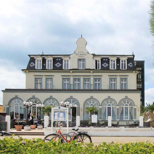 Usedom - Romantik Strandhotel Atlantic in Bansin