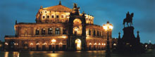 dresden semperoper nacht