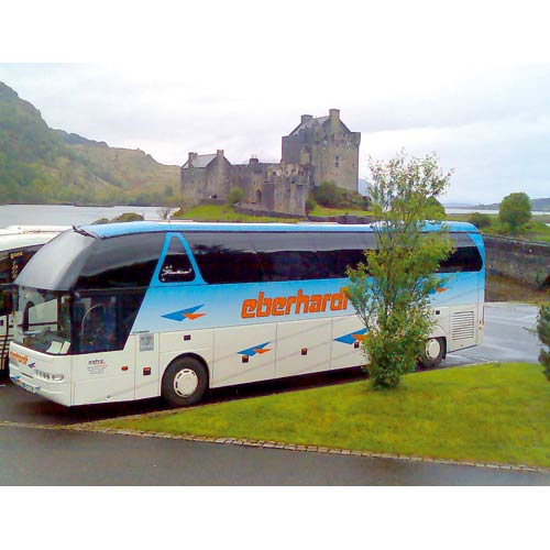 Eberhardt TRAVEL Bus in Schottland