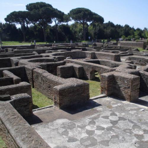 Ostia Antica (Kutscher-Thermen)