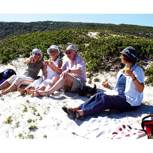 Picknick in Namibia