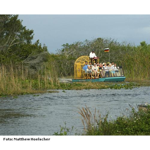 Propeller-Boot-Fahrt im Everglades-Nationalpark