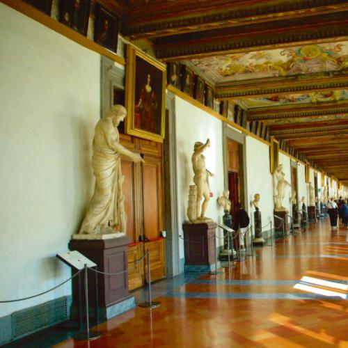 In den Uffizien in FlorenzIn den Uffizien in Florenz, Copyright: Eberhardt TRAVEL