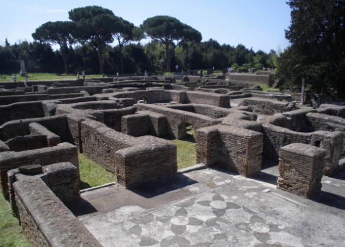 Ostia Antica (Kutscher-Thermen), Copyright: Eberhardt TRAVEL