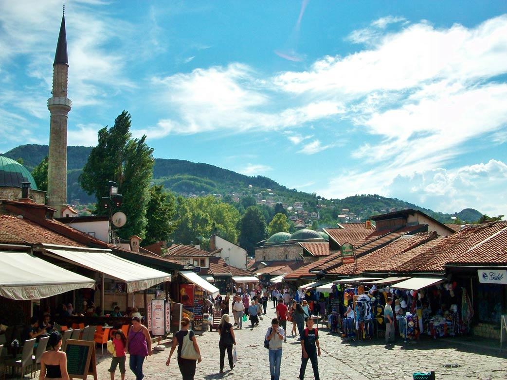 Sarajevo: Orientalisches Treiben